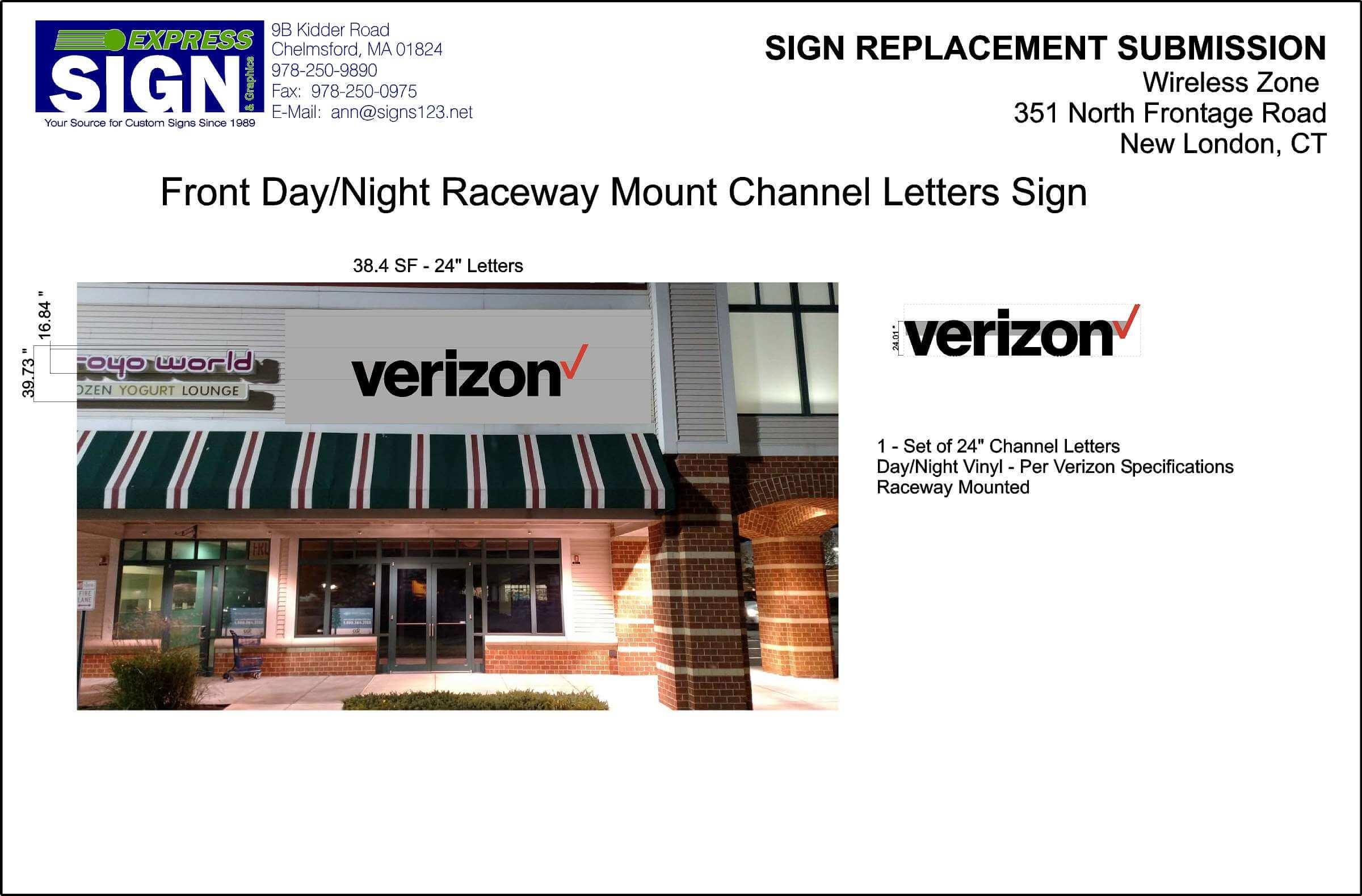 Exterior Sign Design