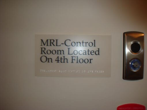 Custom ADA Room Signs