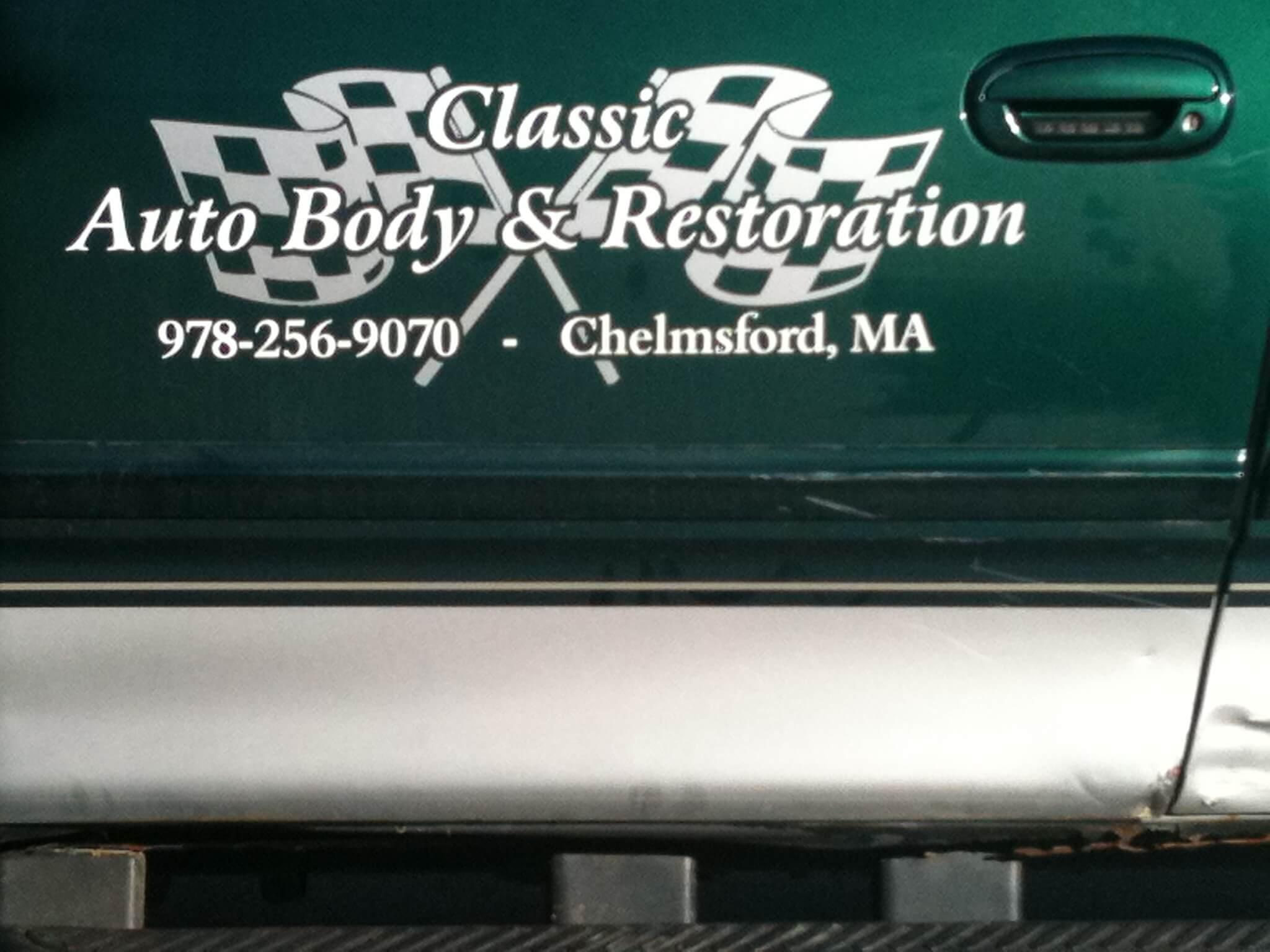 Vinyl Truck Lettering Logo