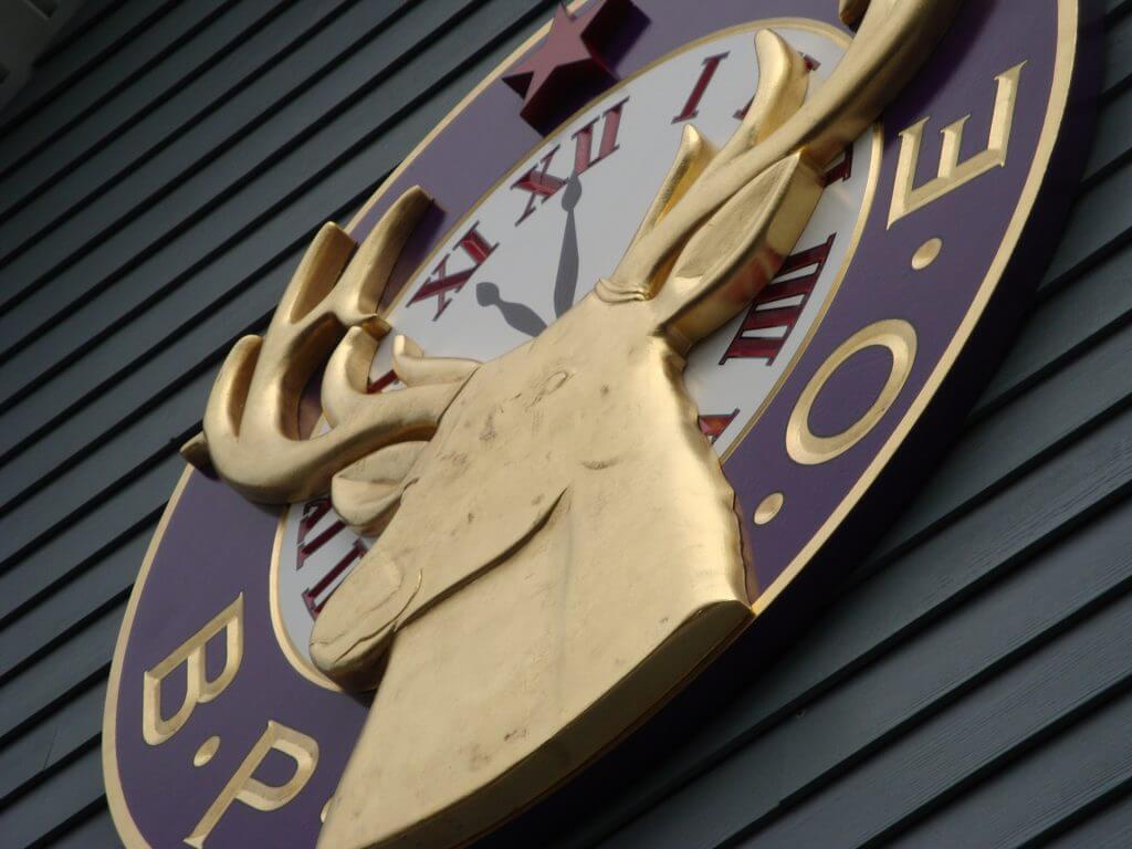 Chelmsford Lodge of Elks Dimensional HDU Sign