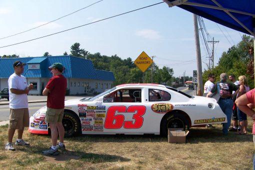 Race Car Lettering