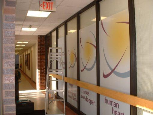 Perforated Window Graphics Billerica, MA