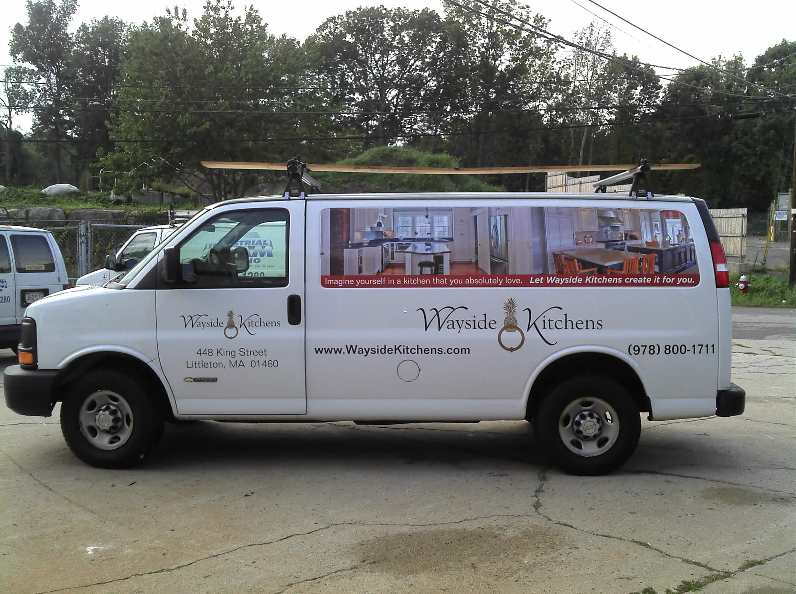 Vinyl and Full Color Vehicle Lettering