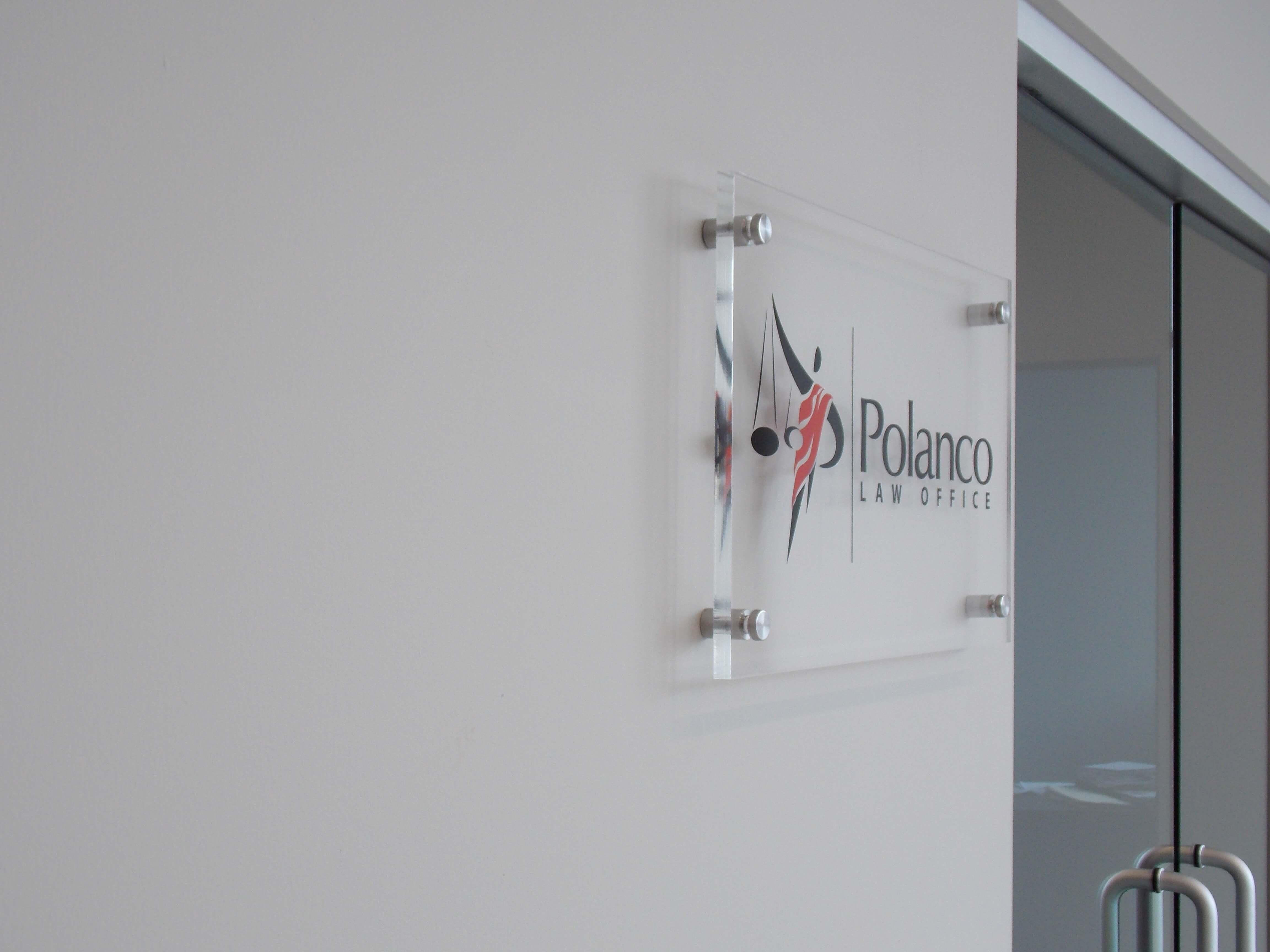 Custom Acrylic Office Sign
