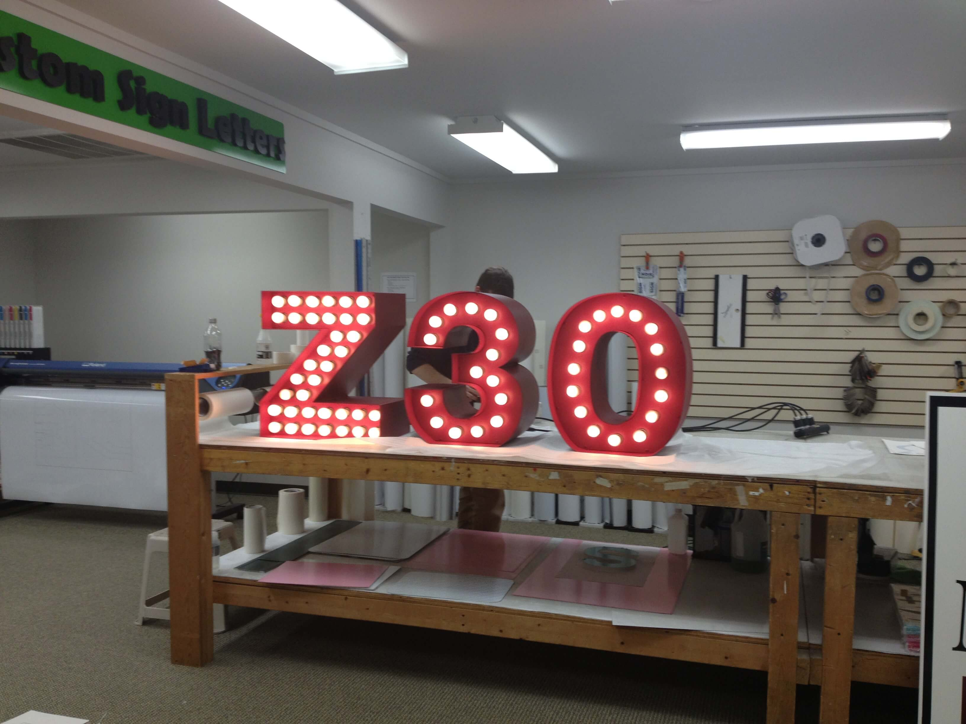 Custom Channel Letters