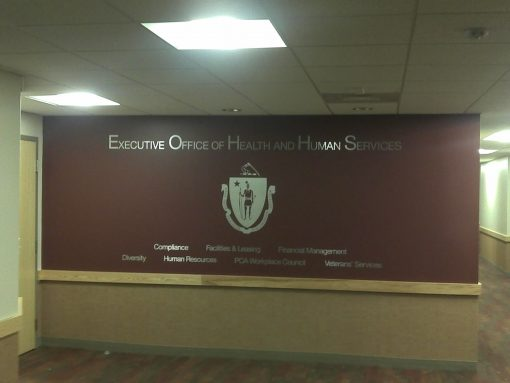 Office of Health Commonwealth of MA Wall Decal