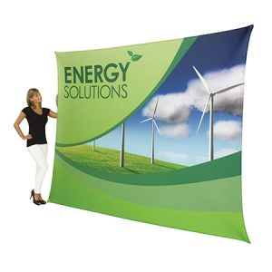 "Formulate Light 92"" x 114"" Tension Fabric Display"