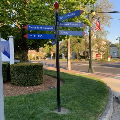 Custom Way Finding Signs for Towns