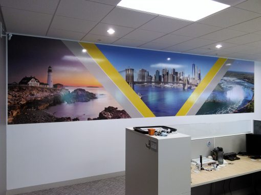 Wide format Wall Murals