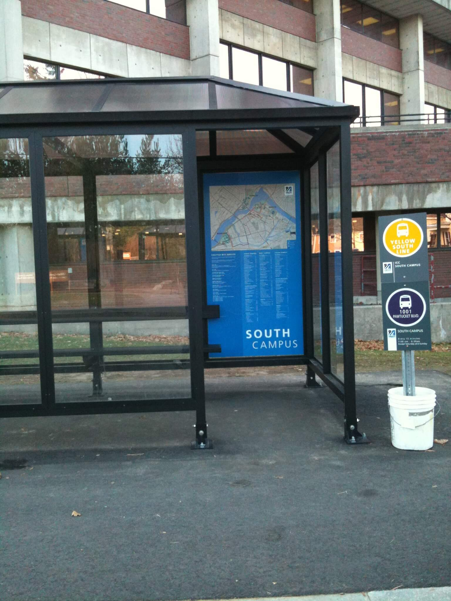 UMass Lowell Bus Depot Graphics