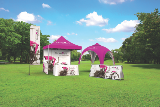 Outdoor Banners and Displays