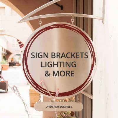 Sign Bracket Catalog Cover
