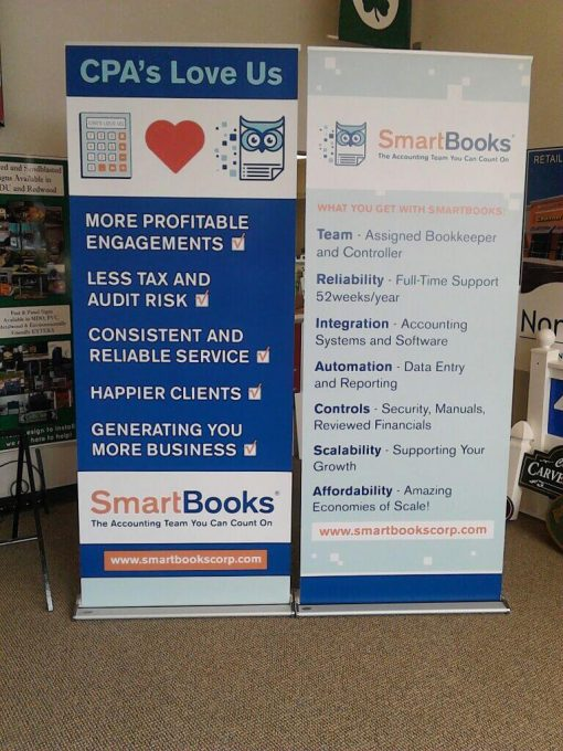 Replacement Banner for Retractable Banner Stands
