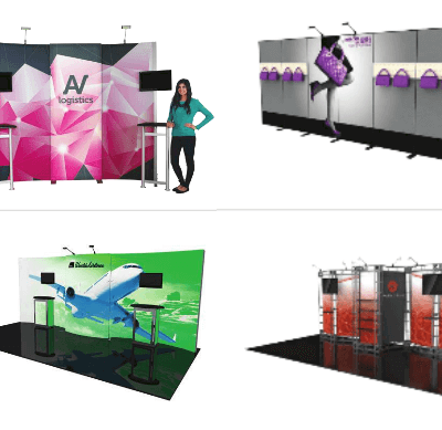Custom Tradeshow Pop Up Booth