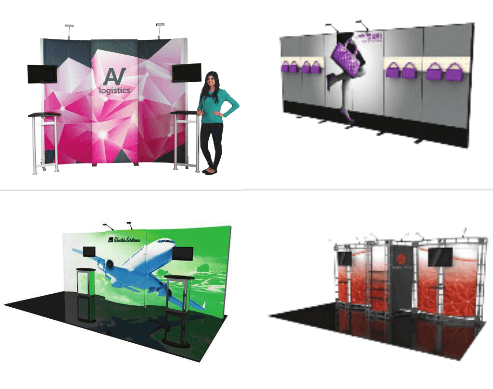 Tradeshow Booth Sample Styles