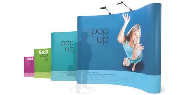 Pop Up Tradeshow Booth