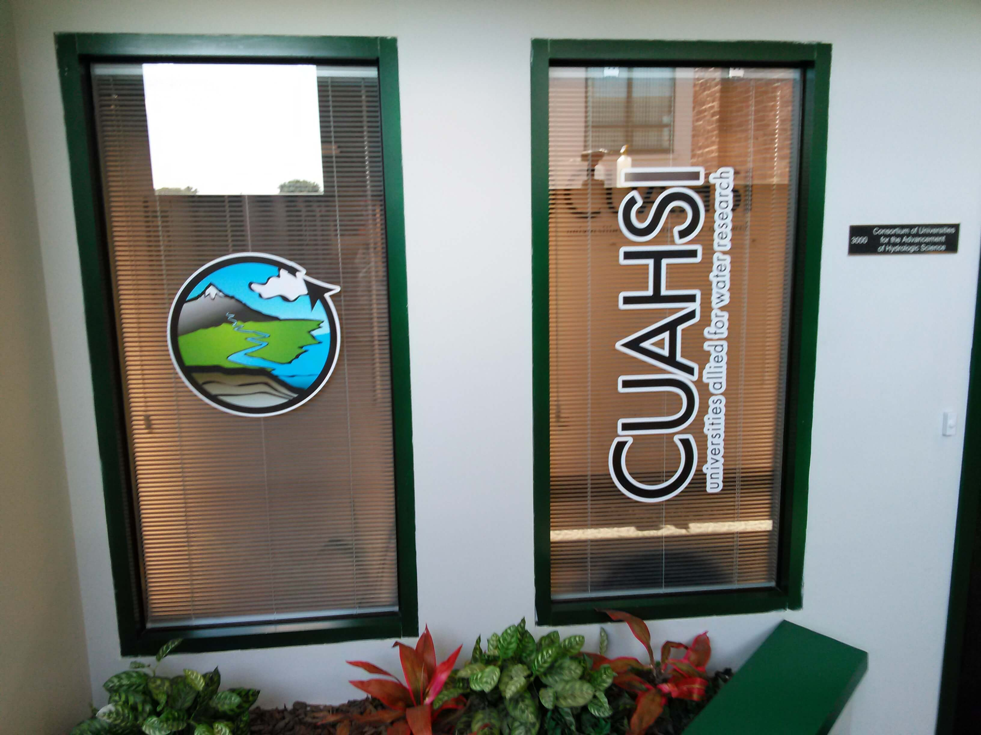 Full Color Window Lettering