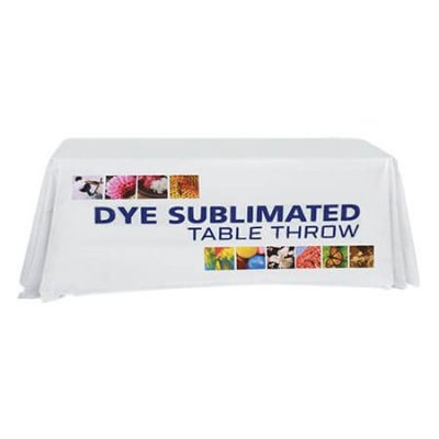 Full Color Dye Sublimated Table Throw