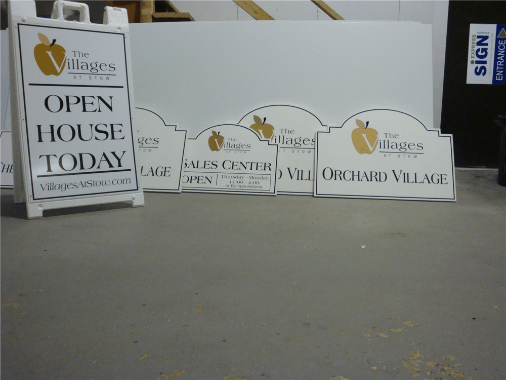 Custom Real Estate For Sale Signs