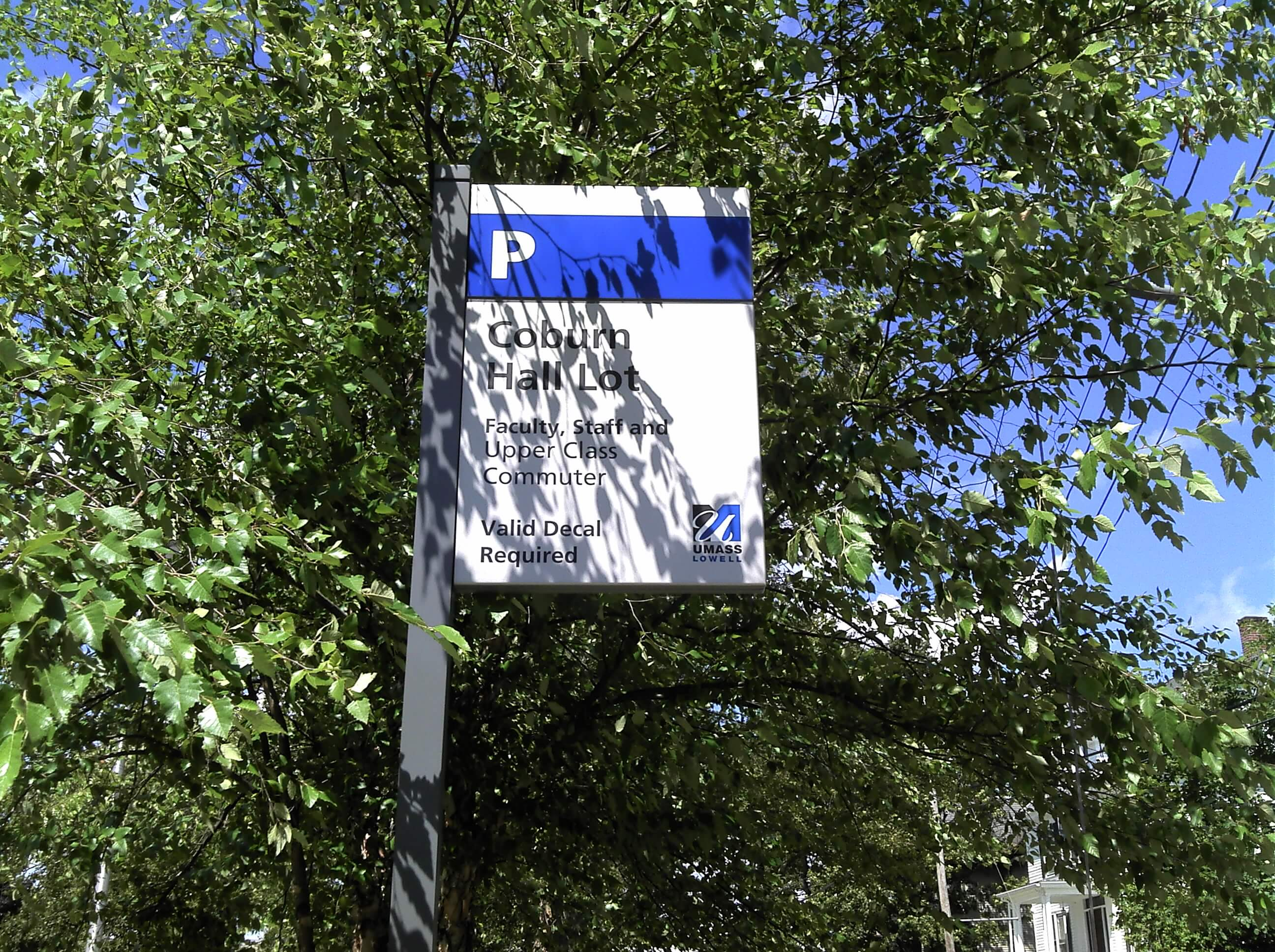 Custom Flag Mount Sign Aluminum