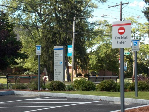 Custom Parking Lot and Wayfinding Signs
