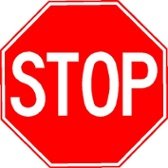 Stop Sign Aluminum Reflective