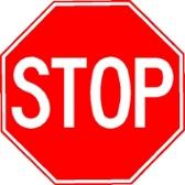Stop Sign Aluminum Reflective