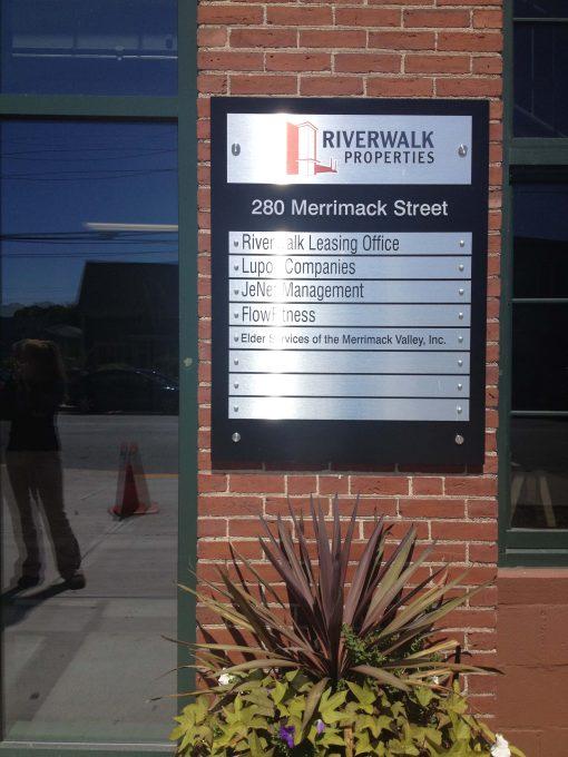 Custom Exterior Building Directory