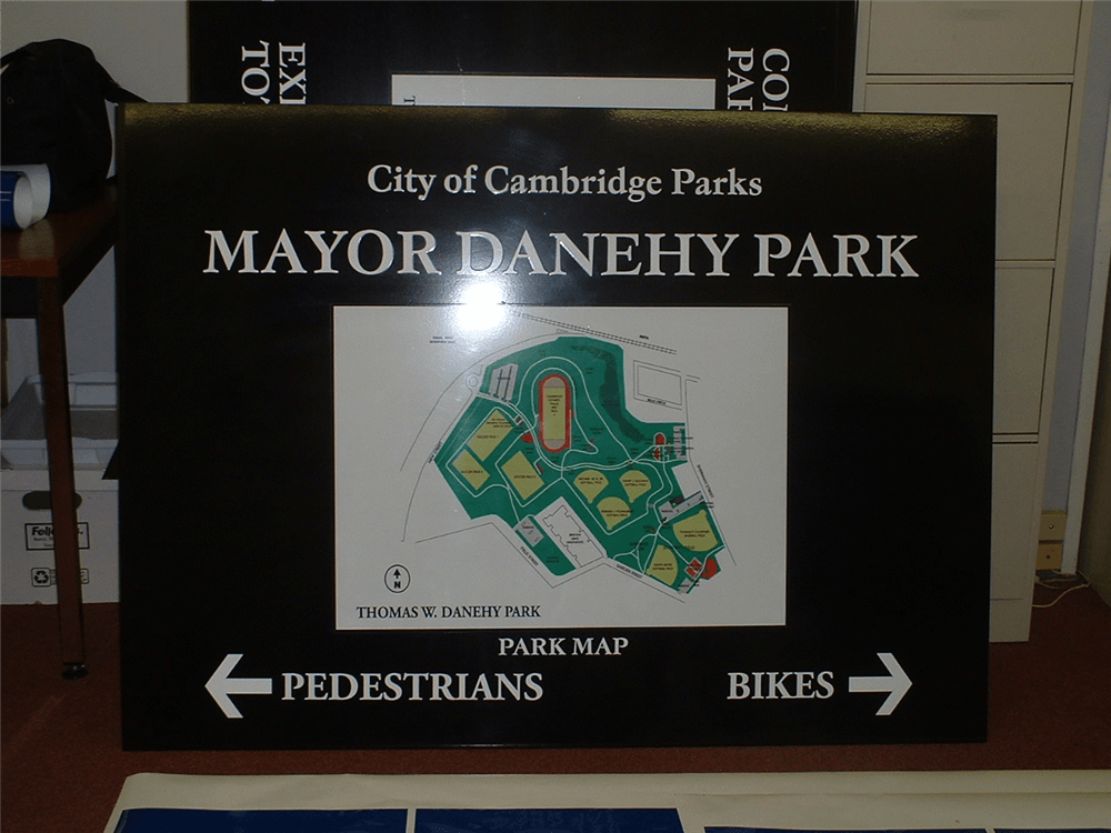 Custom Map Signs