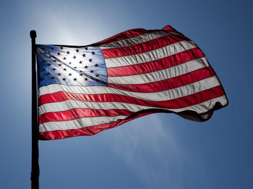 US Flags Outdoors
