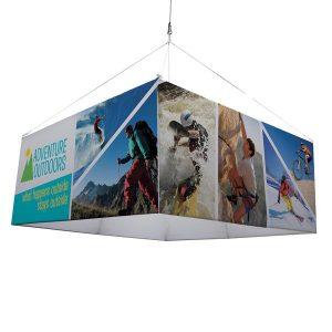 Hanging Fabric Banner Displays