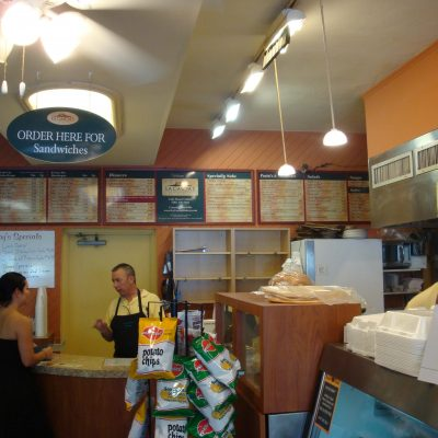 Restaurant Menu Sign