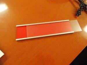 Custom Nameplate Holder