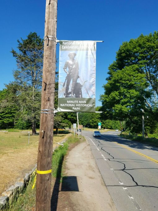 Boulevard Banners National Park Service Concord, MA