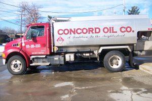 Oil Truck Lettering