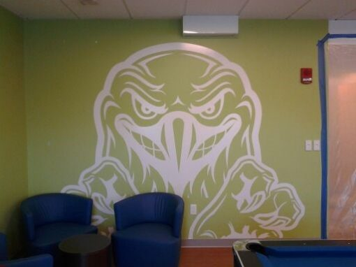 Adhesive Wall Graphics UMass