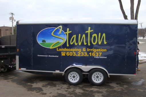 Full Color Trailer Graphics Vinyl