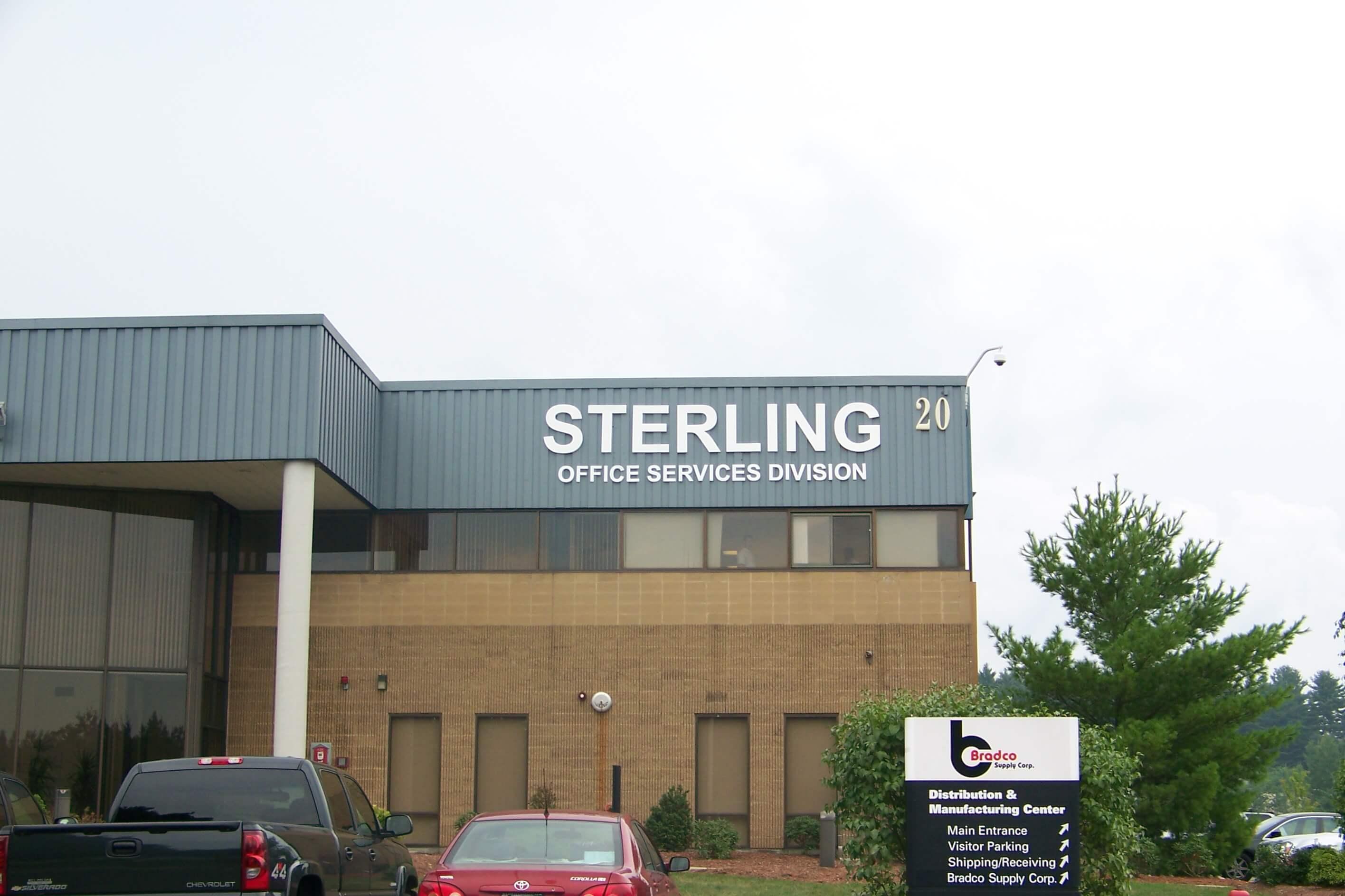 Gemini Plastic Building Letters