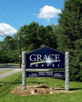 Grace Chapel sign