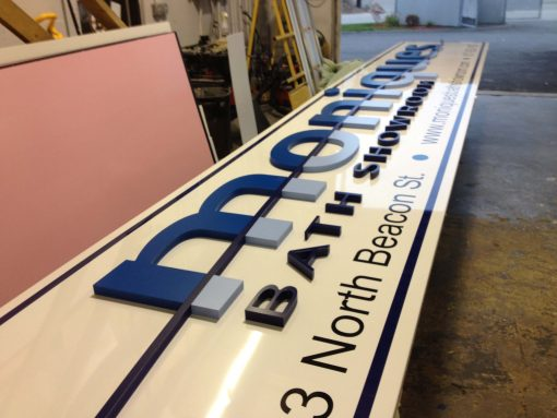 Custom Exterior Building Sign