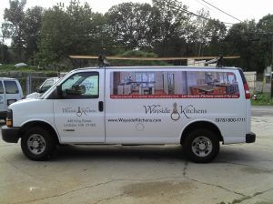 Van Lettering and Full Color Graphics