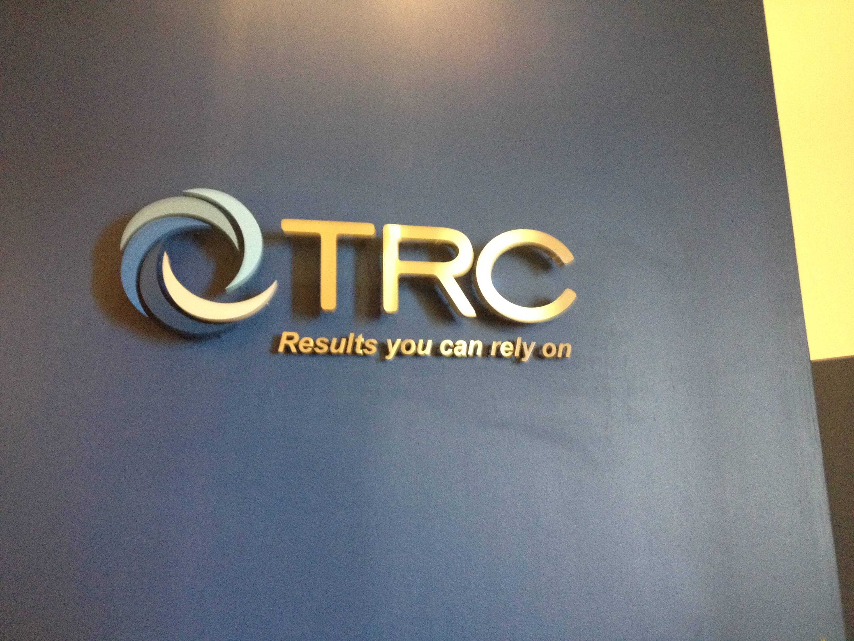Interior Metal Letter Signs - TRC