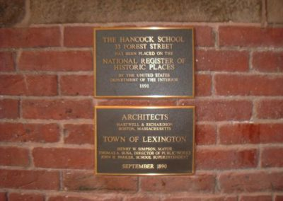 Bronze Building Dedication Plaque