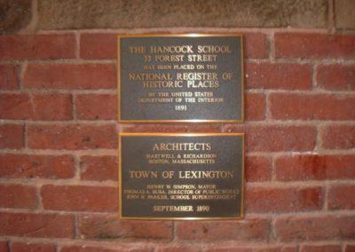 Bronze Building Dedication Plaque