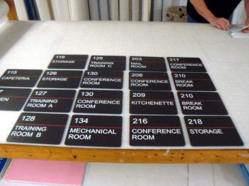 ADA Compliant Room ID Signs