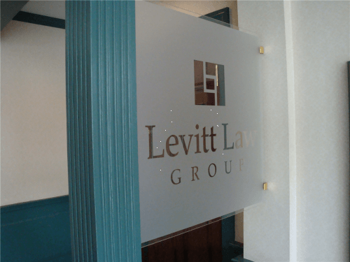 Frosted Glass Window Lettering is A Beautiful Addition to Your Office