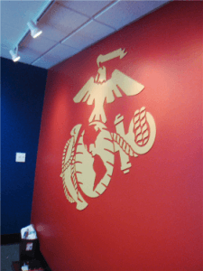 US Marines Dimensional Office Logo
