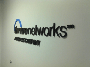 Dimensional Office Logo Sign