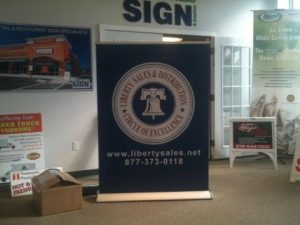 """48"""" Wide Retractable Banner Stand"""
