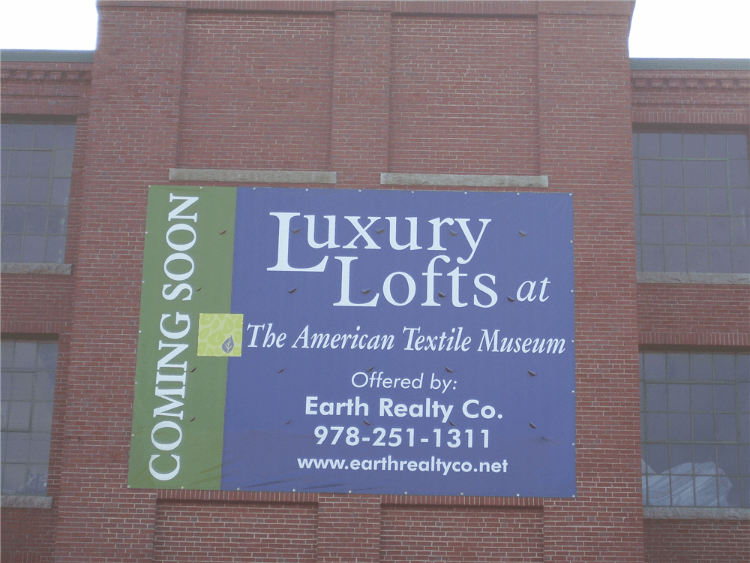 Lofts For Sale Building Banner